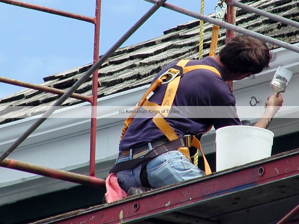 Exterior Painting job in Melbourne