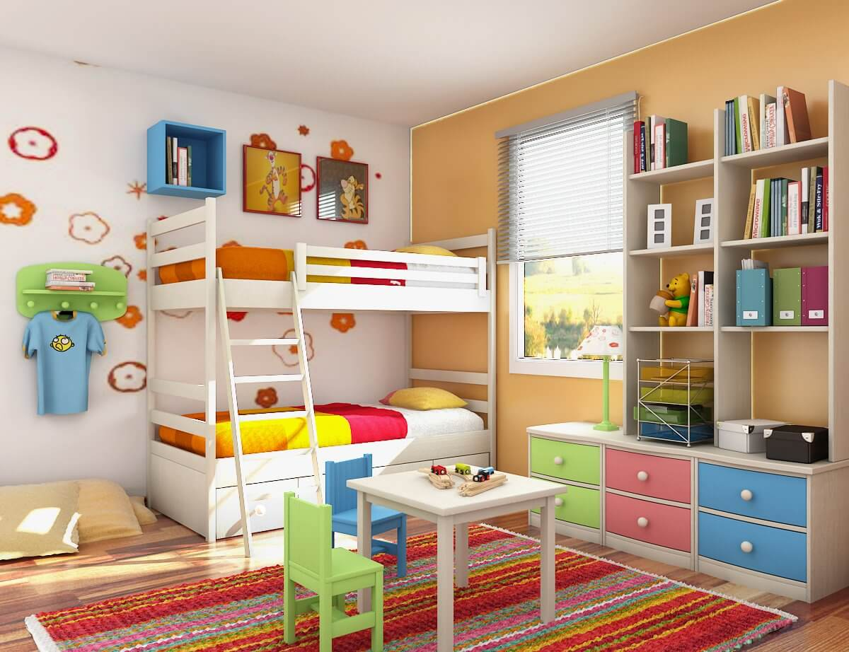 4 Creative Ways To Add A Feature Wall For Your Child's Room.